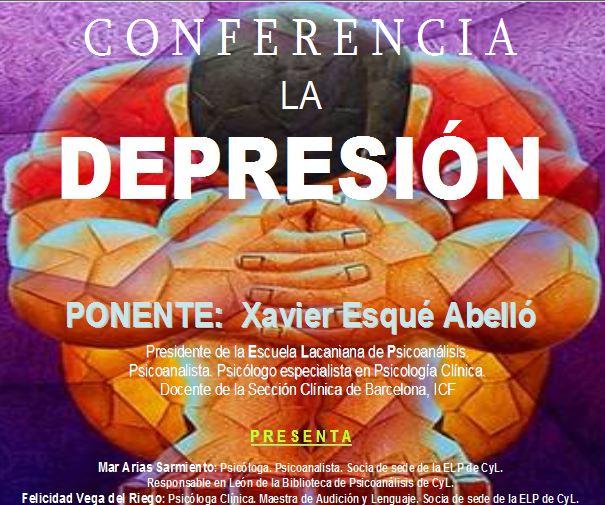 Conferencia LA DEPRESIÓN
