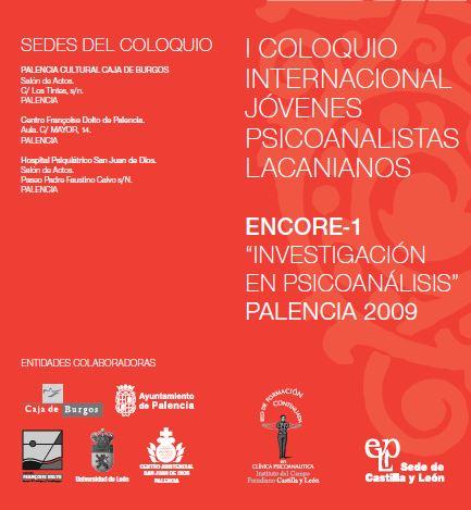 COLOQUIO INTERNACIONAL JÓVENES PSICOANALISTAS LACANIANOS