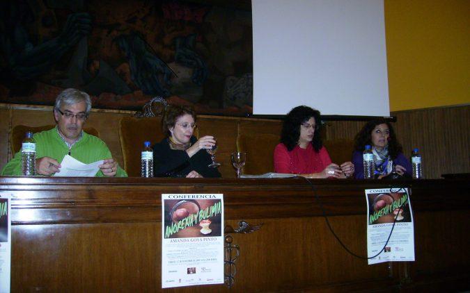 Conferencia ANOREXIA-BULIMIA en León