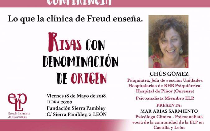 CONFERENCIA: LO QUE LA CLÍNICA DE FREUD ENSEÑA. RISAS CON DENOMINACIÓN DE ORIGEN